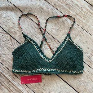 Xhilaration Crocheted Bikini Top